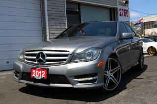 Used 2012 Mercedes-Benz C-Class 300 4Matic. Panoramic. Navigation for sale in North York, ON