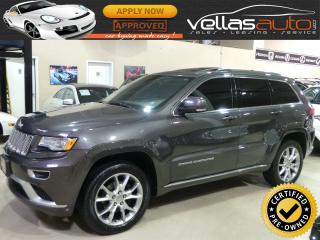Used 2015 Jeep Grand Cherokee SUMMIT| 4X4| NAVI| PANO RF| 20ALLOYS for sale in Vaughan, ON