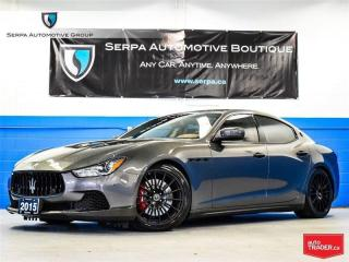 Used 2015 Maserati Ghibli S Q4 for sale in Aurora, ON