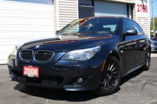 Used 2008 BMW 535 xi Rare 6 Spd Trans.M Sport. Navigation Leather. Roof. Clean for sale in North York, ON