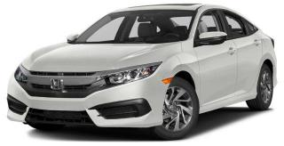 New 2016 Honda Civic Sedan EX CVT for sale in Scarborough, ON