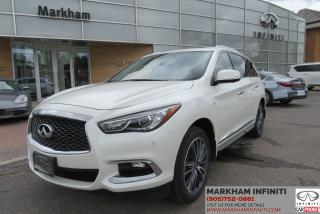Used 2017 Infiniti QX60 Premium, Touring, Navi, Leather, Backup Camera, Panoroof for sale in Unionville, ON