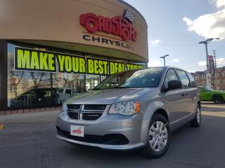 Used 2018 Dodge Grand Caravan CANADA VALUE PACKAGE 7 PASS KEYLESS REAR STOW&GO for sale in Scarborough, ON