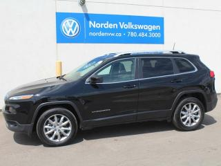 Used 2017 Jeep Cherokee LIMITED 4WD - LEATHER / SUNROOF / NAVI for sale in Edmonton, AB