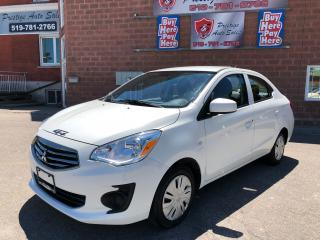 Used 2017 Mitsubishi Mirage G4/ONE OWNER/NO ACCIDENT/CERTIFIED/WARRANTY for sale in Cambridge, ON