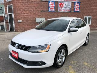 Used 2012 Volkswagen Jetta TDI/DIESEL/NO ACCIDENT/CERTIFIED/WARRANTY INCL for sale in Cambridge, ON