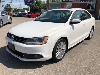Used 2012 Volkswagen Jetta TDI Highline/DIESEL/ONE OWNER/NO ACCIDENT/CERTIFIE for sale in Cambridge, ON