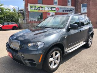 Used 2011 BMW X5 xDrive35d/DIESEL/AWD/CERTIFIED/WARRANTY INCLUDED for sale in Cambridge, ON