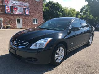 Used 2010 Nissan Altima Hybrid/2.5L/NO ACCIDENT/CERTIFIED/WARRANTY INCL for sale in Cambridge, ON