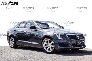 Used 2014 Cadillac ATS Sunroof Rear Camera Bluetooth CUE Bose 17 Whls for sale in Thornhill, ON