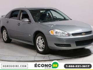 Used 2009 Chevrolet Impala LT A/C GR ELECT MAGS for sale in Saint-leonard, QC