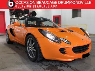 Used 2006 Lotus Elise 6 Vit for sale in Drummondville, QC