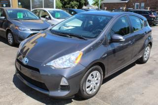 Used 2014 Toyota Prius c Hybrid for sale in Brampton, ON