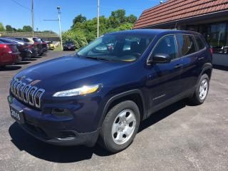 Used 2016 Jeep Cherokee Sport for sale in Cobourg, ON