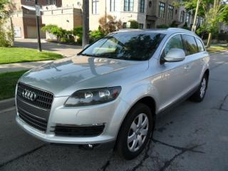 Used 2009 Audi Q7 7PASS, LEATHER, AWD, SUNEOOF, NEW TIRES,CERTIFIED for sale in Toronto, ON