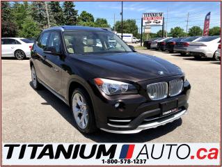 Used 2015 BMW X1 xDrive+AWD+GPS+Park Sensors+Pano Roof+Power Seats+ for sale in London, ON