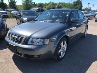 Used 2003 Audi A4 1.8T/AWD/LEATHER/ROOF/ALLOYS for sale in Pickering, ON