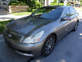 Used 2008 Infiniti G35 LOW KMS, LEATHER ROOF,NO ACCIDENTS!!! for sale in Etobicoke, ON