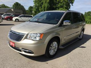 Used 2014 Chrysler TOWN & COUNTRY LIMITED * 1 OWNER * LEATHER * NAV * REAR CAM * BLUETOOTH * 7 PASS for sale in London, ON