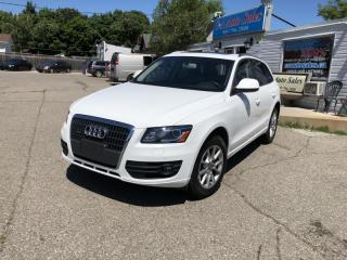Used 2011 Audi Q5 2.0L Premium Plus with back up /Navi,blind spot assist for sale in Brampton, ON