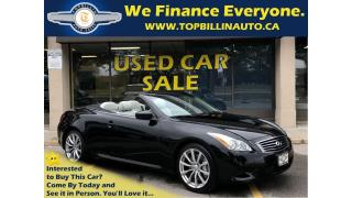 Used 2009 Infiniti G37 Sport, Navigation, Backup Camera, 101K for sale in Vaughan, ON