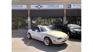 Used 1992 Mazda Miata MX-5 Rare Right Hand Drive, Hard & Soft Top for sale in Vaughan, ON
