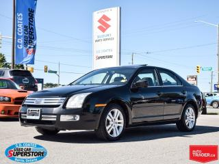 Used 2006 Ford Fusion SEL ~Heated Leather ~Power Moonroof ~Very Clean for sale in Barrie, ON