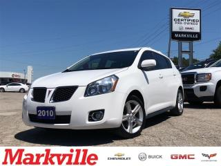Used 2010 Pontiac Vibe CLEAN-GM CERTIFIED-4 NEW TIRES & BRAKES-1 OWNER for sale in Markham, ON
