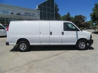 Used 2018 Chevrolet Express 2500 3/4 TON EXT CARGO VAN V/6 MOTOR for sale in Richmond Hill, ON