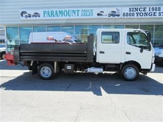 Used 2014 Hino 195 CREWCAB 2WD DIESEL DUMP PLOW SALTER for sale in Richmond Hill, ON