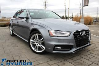 Used 2015 Audi A4 2.0 Technik for sale in Guelph, ON