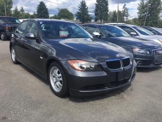 Used 2007 BMW 3 Series 4dr Sdn 323i RWD for sale in Coquitlam, BC