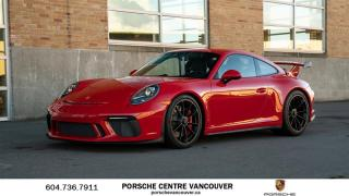 Used 2018 Porsche 911 GT3 | PORSCHE CERTIFIED for sale in Vancouver, BC