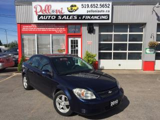 Used 2010 Chevrolet Cobalt LT REMOTE START+CRUISE CONTROL LOW KILOMETRES! for sale in London, ON