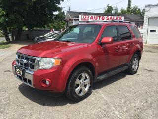 Used 2010 Ford Escape Limited/Accident Free/Leather/Roof/Certified for sale in Scarborough, ON