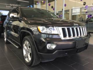 Used 2012 Jeep Grand Cherokee OVERLAND, NAVI, HEATED/COOLED LEATHER, 4WD for sale in Edmonton, AB