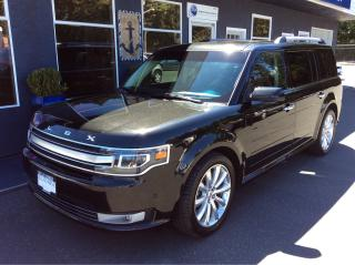 Used 2014 Ford Flex limited for sale in Parksville, BC