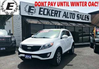 Used 2014 Kia Sportage EX AWD WITH REVERSE CAMERA / BLUETOOTH for sale in Barrie, ON