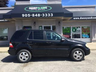 Used 2003 Mercedes-Benz ML 350 3.7L Elegance for sale in Mississauga, ON