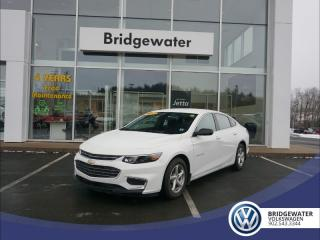 Used 2017 Chevrolet Malibu LS - SINGLE OWNER - DEALER MAINTAINED - LOW KMs - SAVE $8500 OVER BUYING NEW for sale in Hebbville, NS