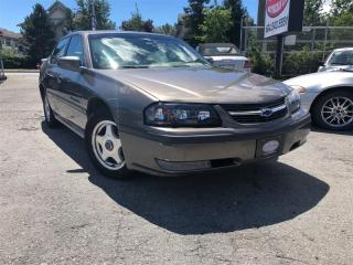 Used 2001 Chevrolet Impala LS for sale in Surrey, BC