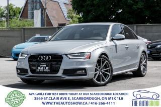 Used 2015 Audi A4 Progressiv Plus S-LINE NAVI RearCam for sale in Toronto, ON