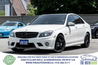 Used 2010 Mercedes-Benz C63 AMG NAVI Heated Leather Sunroof Bluetooth Fog Lights for sale in Scarborough, ON
