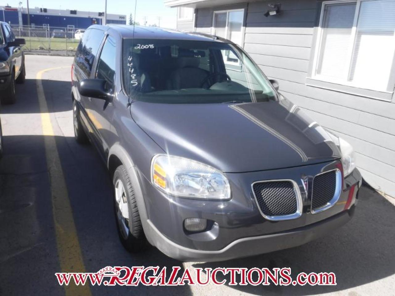 2008 Pontiac Montana 4D WAGON