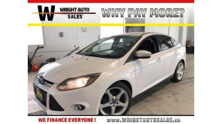 Used 2014 Ford Focus Titanium|NAVIGATION|BACKUP CAMERA|93,640 KMS for sale in Cambridge, ON