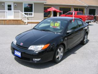 Used 2006 Saturn Ion 2.4 Quad Coupe* A MUST SEE LOW KM'S for sale in Smiths Falls, ON