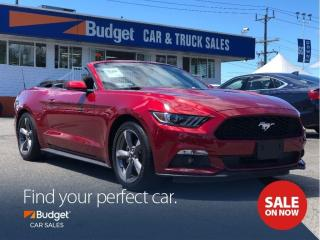 Used 2017 Ford Mustang Super Clean Convertible, Bluetooth, Low Kms for sale in Vancouver, BC