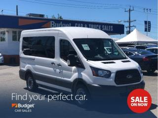 Used 2017 Ford Transit Passenger Wagon 10 Passenger, Low Kms, Well Cared For for sale in Vancouver, BC