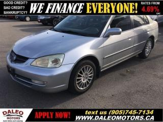 Used 2002 Acura EL 1.7 Touring | YOU SAFETY, YOU SAVE!! for sale in Hamilton, ON