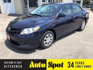 Used 2012 Toyota Corolla LE/CLEAN CAR/PRICED FOR A QUICK SALE! for sale in Kitchener, ON